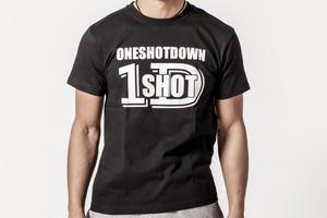 ONESHOTDOWN ロゴTシャツ