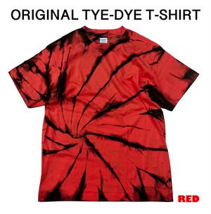 オリジナルタイダイTシャツ(レッド)