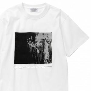 """【残りわずか】POET MEETS DUBWISE """"PHOTO 1"""" Tシャツ/ホワイト"""