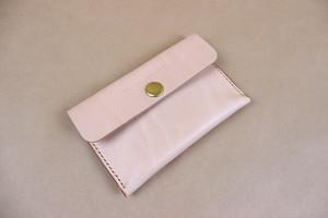 JAPAN LANSUI DESIGN 名入れ対応 ヌメ革手作り手縫い カードケース 名刺ケース 品番JNDSMG8SKG