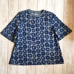 レディース/フラワーAラインTシャツ