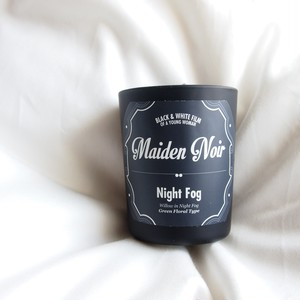 Maiden Noir Candle // Night Fog  (Green Floral) S