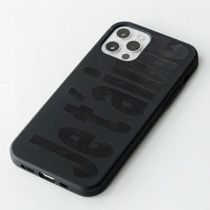 【t.e.a】Je t'aime Jelly (black) / iphone スマホ ケース カバー ジュテーム フランス ジェリー ソフト 韓国雑貨