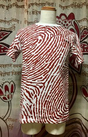 指紋Tシャツ