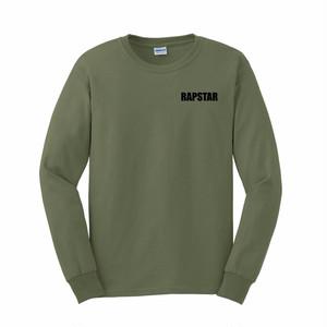 【受注発注】RAPSTAR LONG SLEEVE TEE (Military Green) 【オーダー〆切: 11月5日 火曜日 0時】