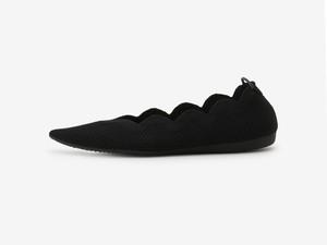 scallop pattern/ BLACK
