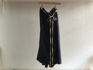 "30%OFF whowaht "" CHIFFON GATHER SKIRT "" MIDNIGHT BLUE"