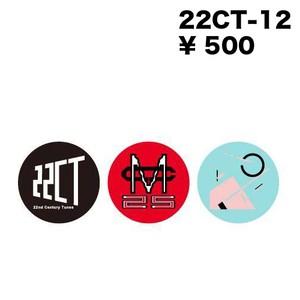 22CT-1 Imege Can Badge × 3