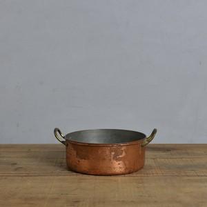 Saucepan / ソースパン【A】〈コッパー・銅・鍋・調理器具・アンティーク・ヴィンテージ〉 112090