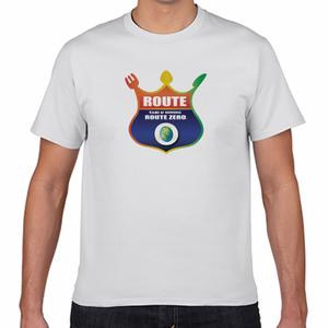 ルートゼロ ロゴTシャツ 白 ROUTE ZERO LOGO T-SHIRT WHITE