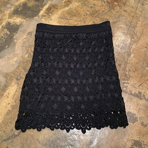 Crochet tight skirt