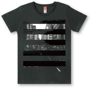 #439 Tシャツ CONTRAST/BLK