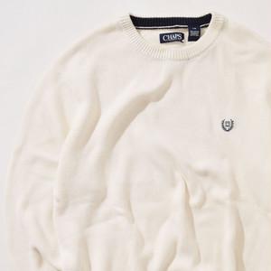 【Lサイズ】Chaps チャップス Sweater セーター WHT ホワイト L 400604191101