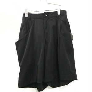 VOAAOV double Face shorts  Black
