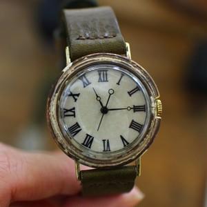 シンプル文字盤の時計