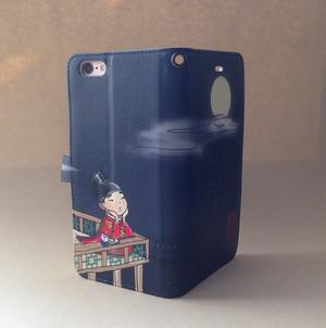 手帳型スマホケース/Android L・iPhone plus