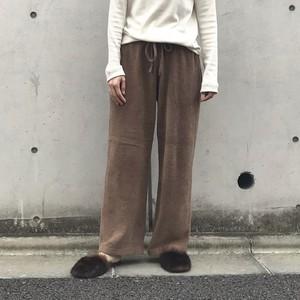 Liyoca コットンモールパンツ BEG 【19AW】