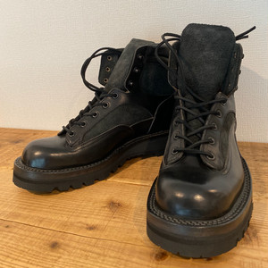 FIELD BOOTS (JET BLACK) / LOST CONTROL