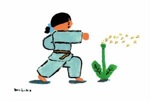 CATACANA [ポストカード]  ミズノマサミ  -karate girl-