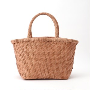 【山羊革】手編みメッシュ シンプルトートバッグ Mサイズ<5色展開> M8622