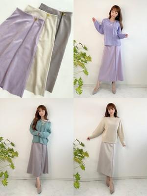 上質Aラインスエードスカート ¥8,500+tax