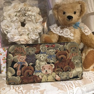 Teddybear Long wallet