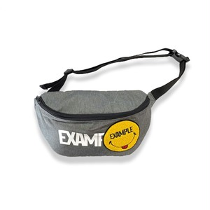 EXAMPLY by EXAMPLE EXAMPLY BODY BAG / CHARCOAL
