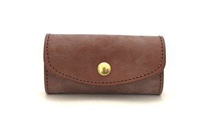 RE.ACT Bridle Leather Key Case Hazel