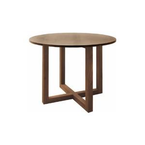 ミルクリーク ダイニングテーブル ウォールナット φ1000