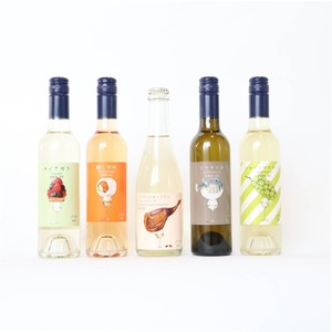 白とオレンジワインハーフボトル5本セット