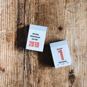 GERMANY MINI CALENDAR 2019