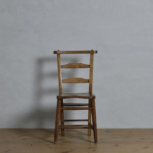Church Chair / チャーチチェア【A】〈チャペルチェア・ダイニングチェア・デスクチェア・椅子・カントリー・アンティーク家具〉112133