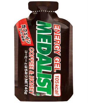 【medalist】 Energy Gel (Coffee & Honey)
