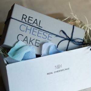 REAL CHEESECAKE プレーンチーズケーキ(ギフトラッピング込み)