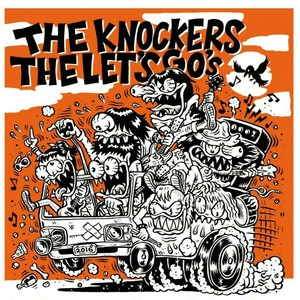 KNOCKERS / LET'S GO's - ORANGE ROAD  split CD