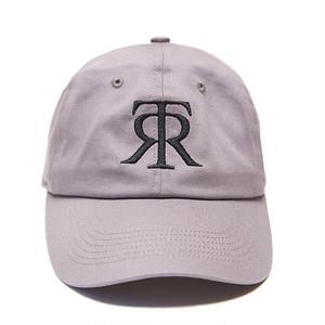 TOKYO RECORDS LOGO CURVE CAP(GRAY x BLK)
