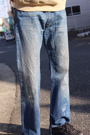 Remake Diesel Cutting Denim Flare Pants