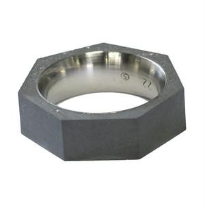 22designstudio Seven Ring THIN (Original) Original grey concrete 4719692541413 リング 指輪 #5(9号)
