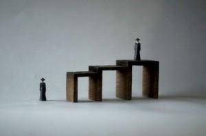 (058)wood figure-mini &structure 箱入 025