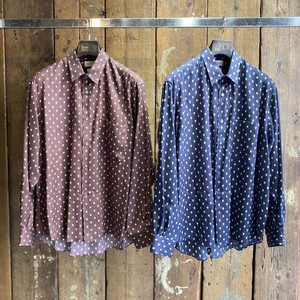FACTOTUM / Pattern Print Wide Shirt