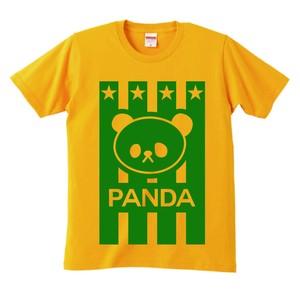 Tシャツ・ストライプ黄