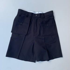 MATSUFUJI Workaholic Utility Short Pants BLACK