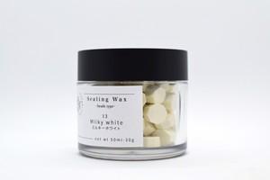 Sealing Wax  Octagon series 13 Milky white シーリングワックス オクタゴンシリーズ ミルキーホワイト