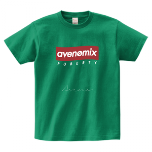 avenomix / BOX-LOGO & SIGN T-SHIRT DEEP-GREEN