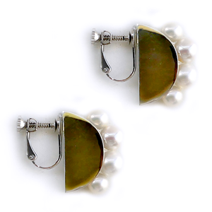 【2017AW】MANON Earring/GOLD