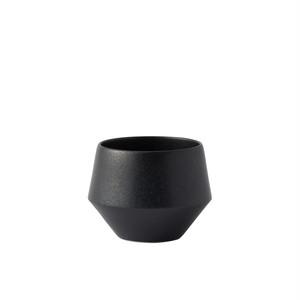 Frustum 煎茶(黒釉)