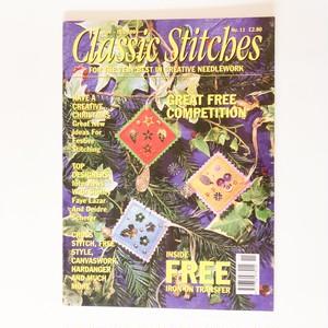 刺繍雑誌 Classic Stitches no.11 1995年11/12月号