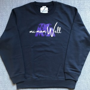"New!!《送料込》McMamWell Print Sweat ""Navy"""