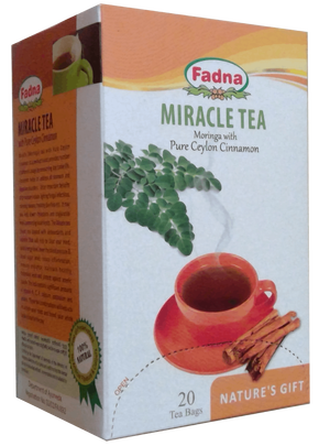 Miracle Tea(Moringa&Cinnamon) 20個入り