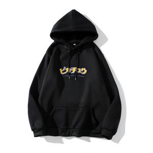 【トップス】ピカチュウ日系カートゥーンカップルパーカー